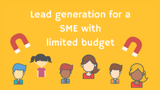 Lead generation for a SME with limited budget
