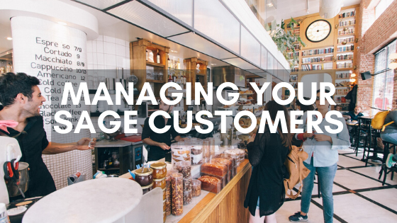 Managing your Sage customers
