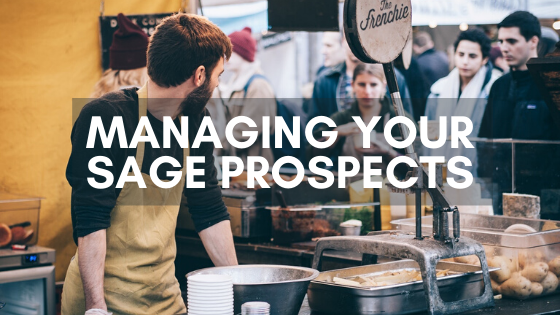 Managing your Sage 50 prospects